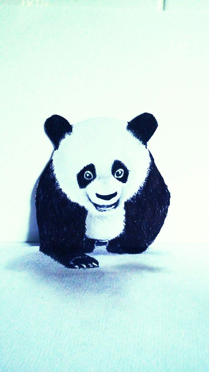 panda Drawing. Art
