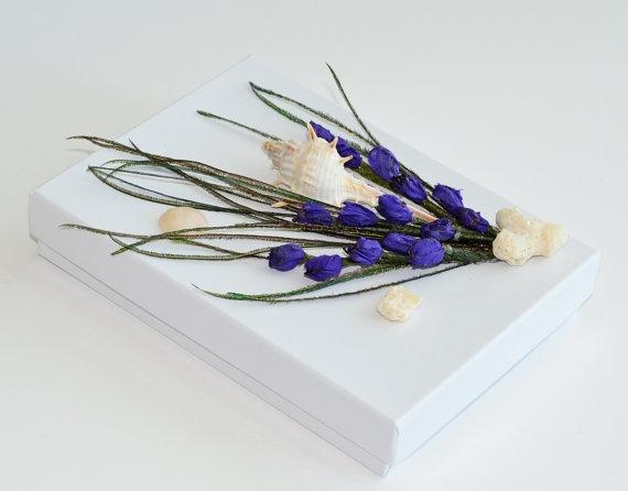 OOAK Gift Box Wedding Jewelry Birthday Anniversary by Vdesign2009,