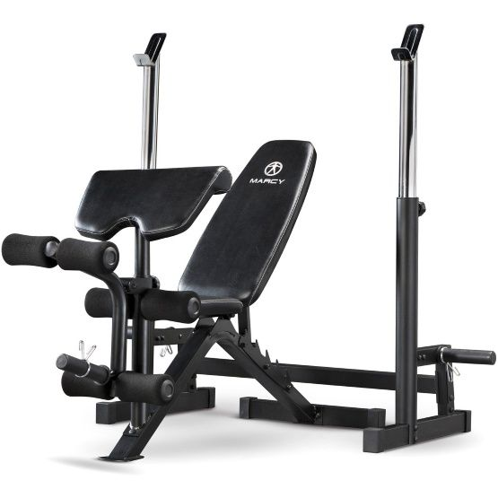 Marcy Deluxe Olympic Weight Bench