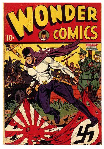 Wonder Comics # 1 starring The Grim Reaper