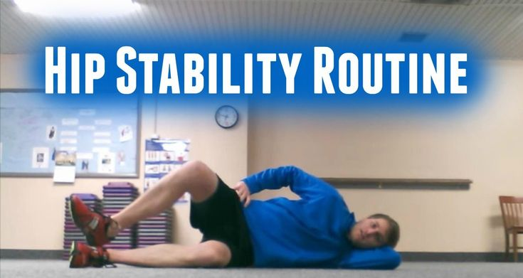 Hip Stability  Exercises For Runners - SPR