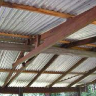 Best Rustic Corrugated Tin Roof Want A Carport With A Similar 400 x 300