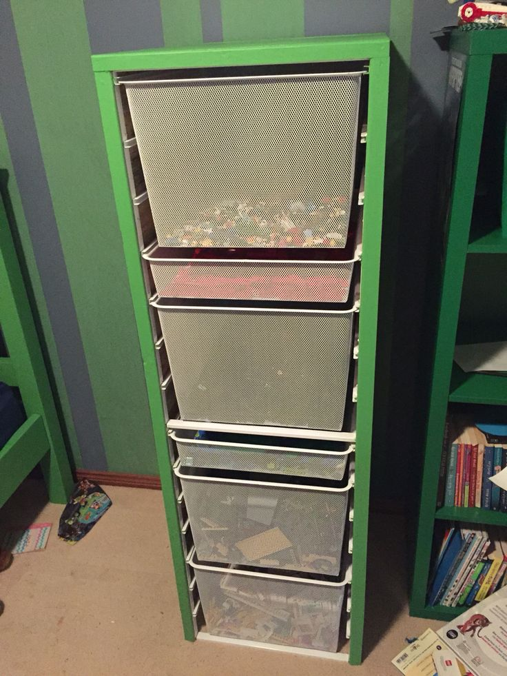 2. To this Awesome Lego Storage