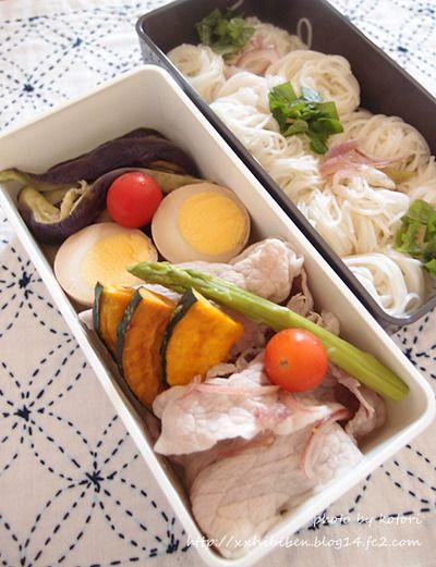 そうめんで男子学生弁当 by kotori*さん | レシピブログ - 料理ブログ ...
