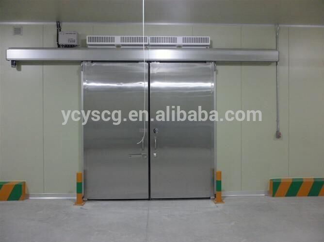 cheap cold room automatic sliding doors