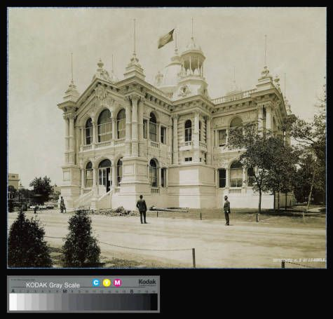 World's Columbian Exposition, Brazil Government Building :: Archival Image & Media Collection