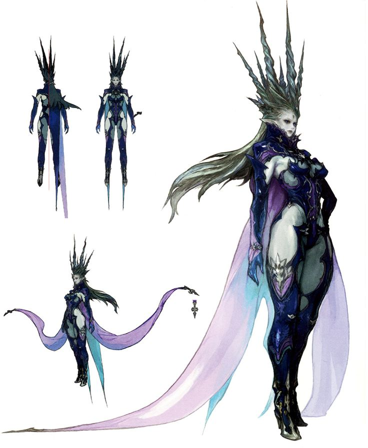 A very dark approach is a potential idea of her design. her crown and armour plates are just so nicely designed.