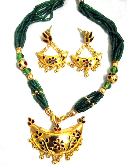 Exotic Assamese Jewellery-Junbiri