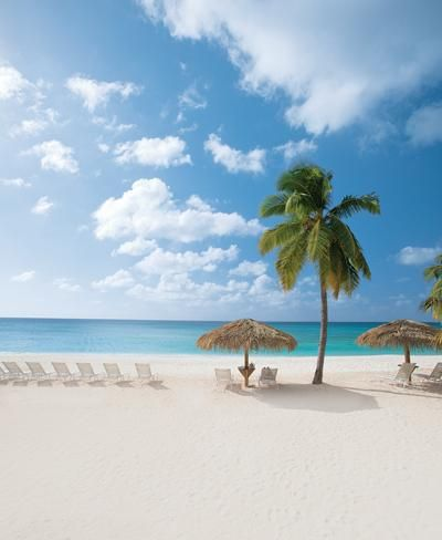 George Town, Grand Cayman. Enjoy time on the famous Seven Mile Beach, where you can soak up some sun, cool off in the crystal-clear waters and curl your toes in the powdery white sand.