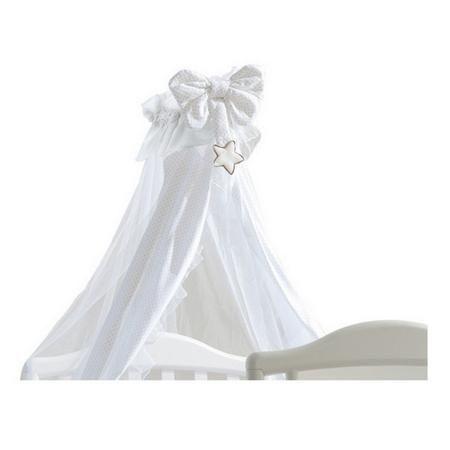 Pali Meggie  белый  — 6563р. ----------------------------------- Москитная сетка Pali Meggie – это легкая вуаль для детской кроватки. Прозрачный и воздушный, изящно укутывая уют крохи, балдахин поможет защити?...