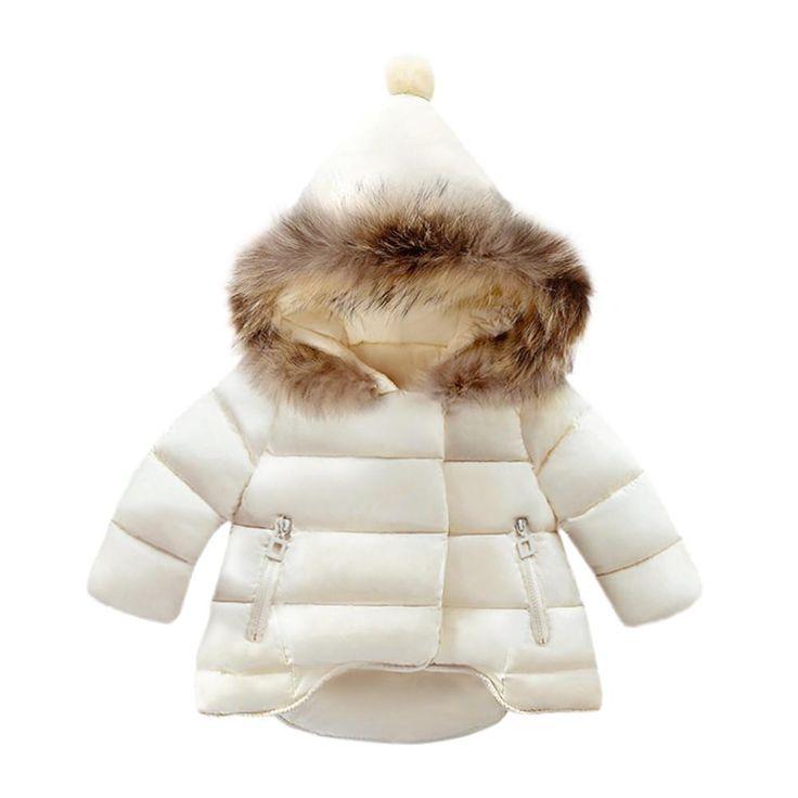 Baby Girls Boys Kids Jacket Coat Autumn Winter Warm Children Clothes
