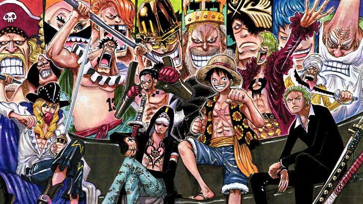 One Piece Abdullah Bartolomeo Blue Gilly Boo Cavendish