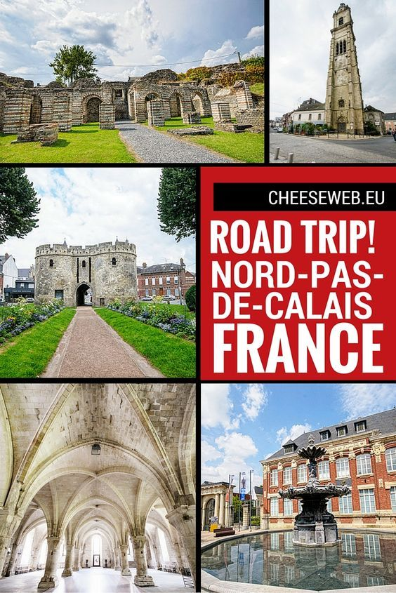 A weekend road trip through Nord-pas-de-Calais, France, with abbeys, roman ruins, art galleries, and good food. There's even a UNESCO site!