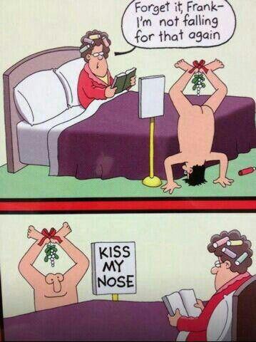 Kiss My Nose | Xmas Comics