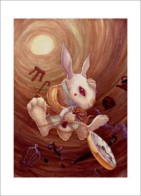"""""""Alice in wonderland White Rabbit"""""""