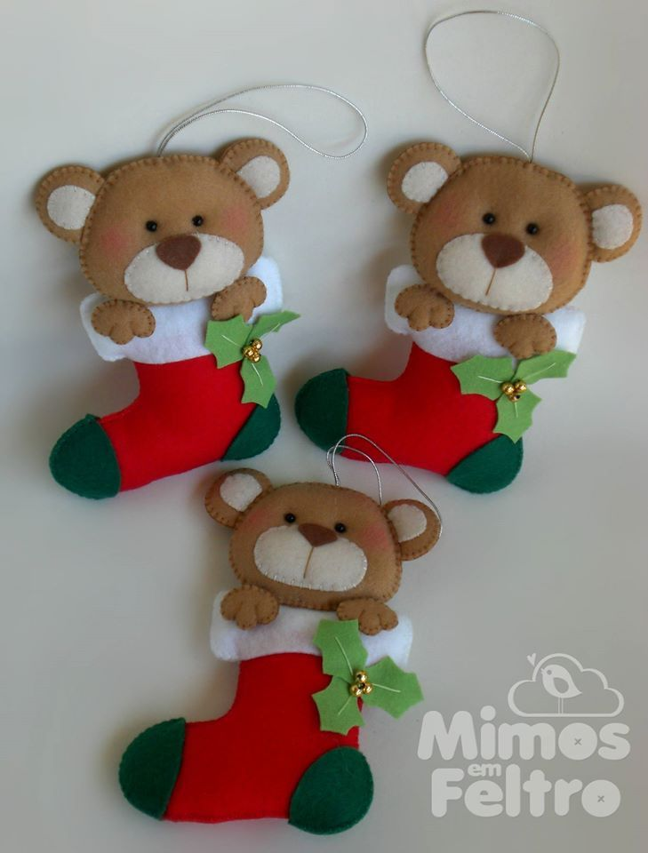 Enfeite de Arvore de Natal ♥