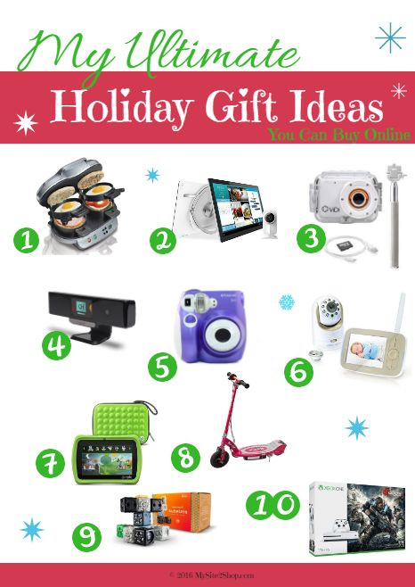 90 Best Christmas Gift Ideas for Everyone on Your List –  Most Unique Holiday Gifts for 2016