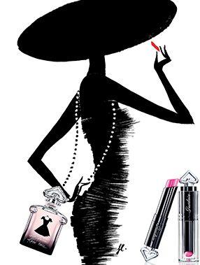 Le maquillage La Petite Robe Noire en avant-première