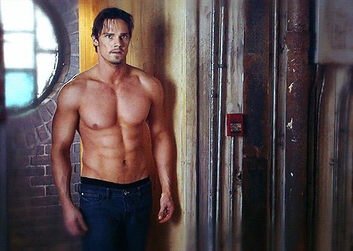 Jay Ryan also being shirtless. | Can You Make It Through This Post Without Your Ovaries Exploding?