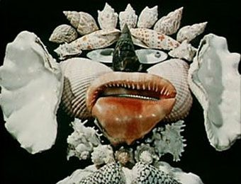 Jan Svankmajer shell face