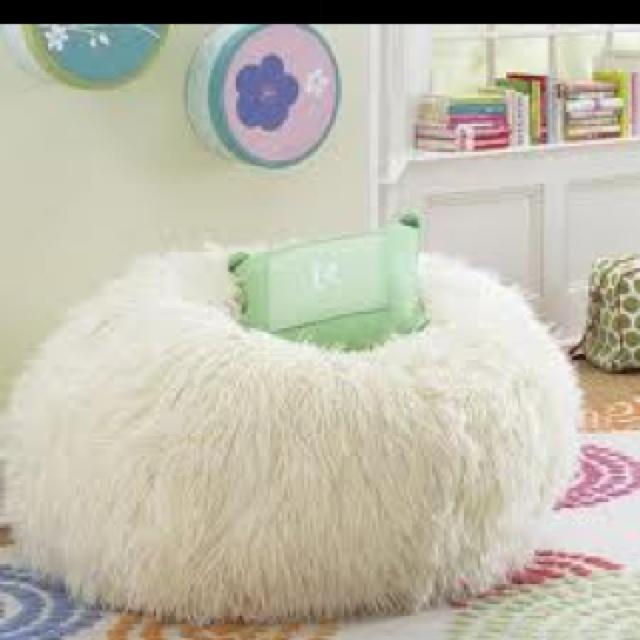 Fuzzy Bean Bag Chair Bean Bags R Cute Pinterest Bag