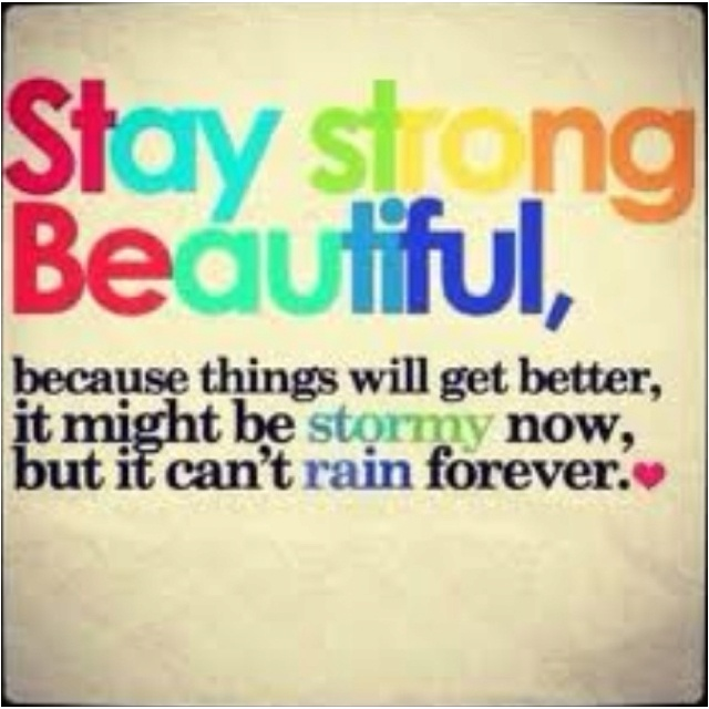 For my beautiful friend Jay Jay... it's always darkest before the storm. Stay Strong<3Happy Thoughts, Stay Beautiful, Stay Strong, Happy Quotes, Happy Happy Happy, Positive Thoughts, Strong Beautiful, Favorite Quotes, Staystrong