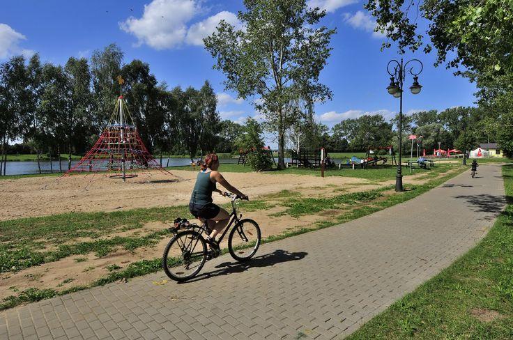 Cześć rekreacyjna zalewu w Węgrowie, zdj. Paweł Kołodziejczyk