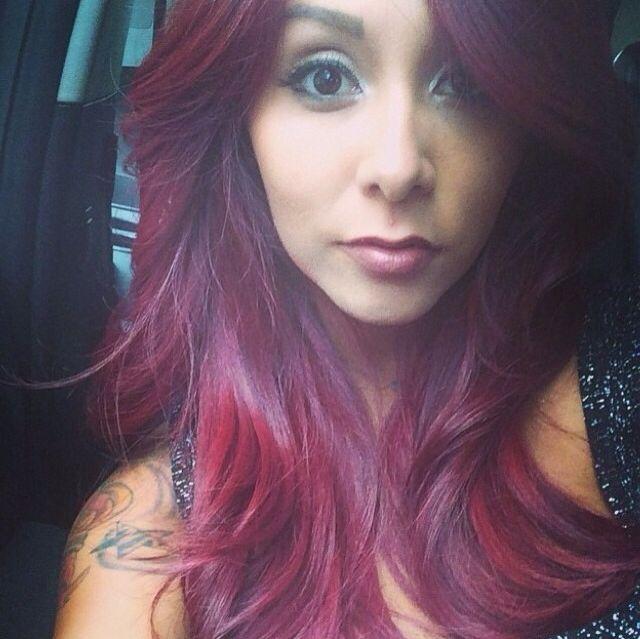 snooki hairstyles : red hair snooki hair color snooki s hair snooki jwoww redhair snooki ...