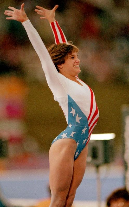 Mary Lou Retton (1984) Another one of my heroes.