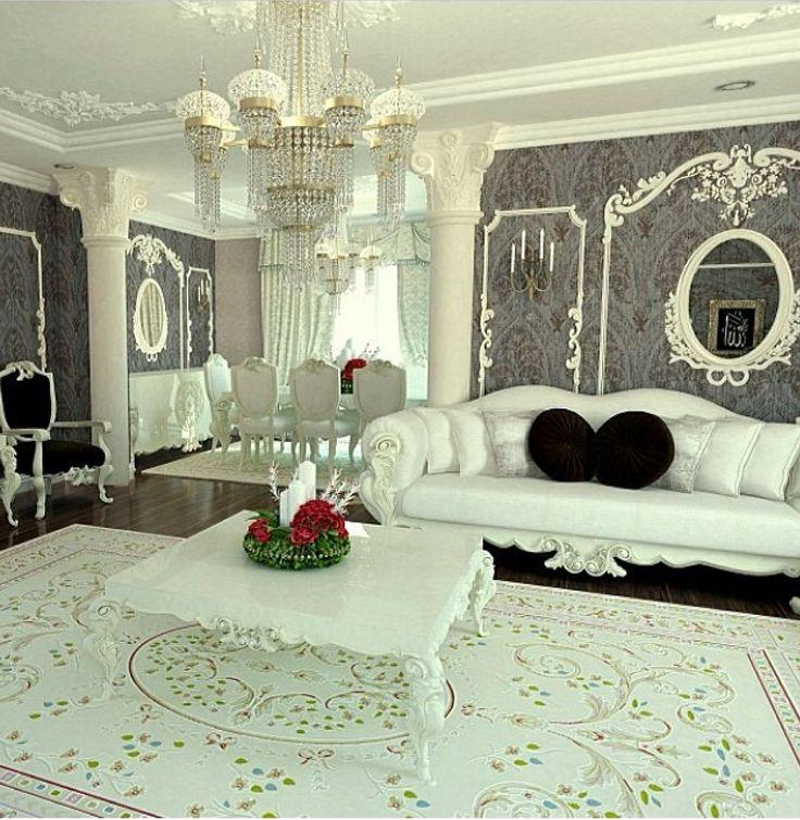 White living room 1160 best HouseIdeas images