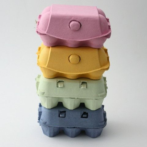 Coloured Egg Boxes (6 pack) from Pretty Little Party Shop - Stylish Party