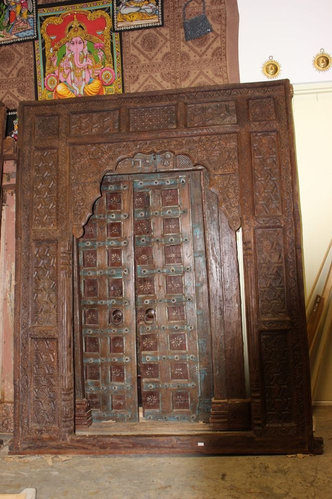 CLEARANCE SALE Antique Wooden Arch INDIAN Handcarving Door Frame Design  Archway #MogulInterior - CLEARANCE SALE Antique Wooden Arch INDIAN Handcarving Door Frame