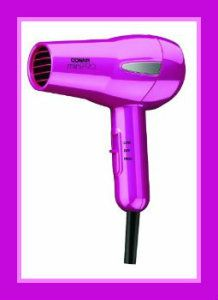 MiniPRO by Conair Tourmaline Ceramic Hair Dryer. Get a Deluxe travel pouch with Tourmaline Ceramic technology. 1200 Watts. 2 Heat/Speed settings. Dual voltage. http://theceramicchefknives.com/ceramic-hair-dryer/ MiniPRO by Conair Tourmaline Ceramic Hair Dryer