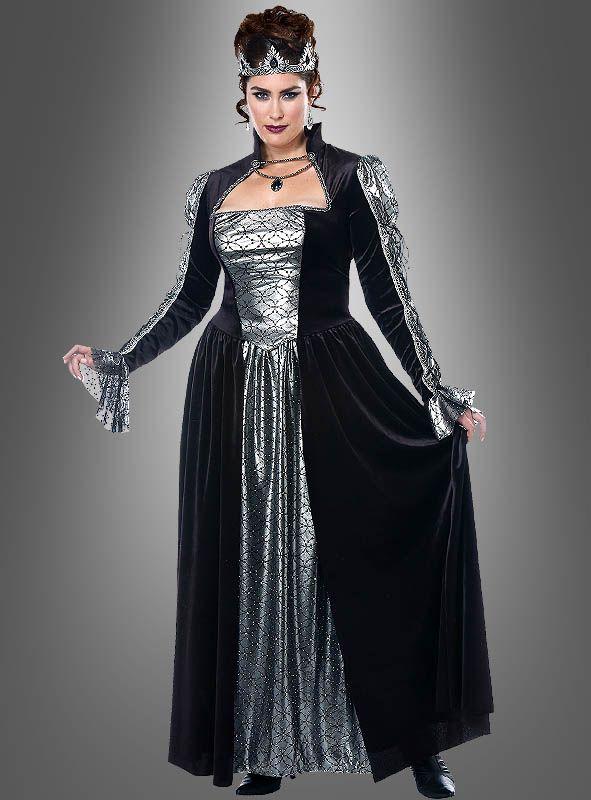Xxl Koniginnen Kostum Fur Damen Bei Kostumpalast Konigin Kostum Langes Abendkleid Modestil