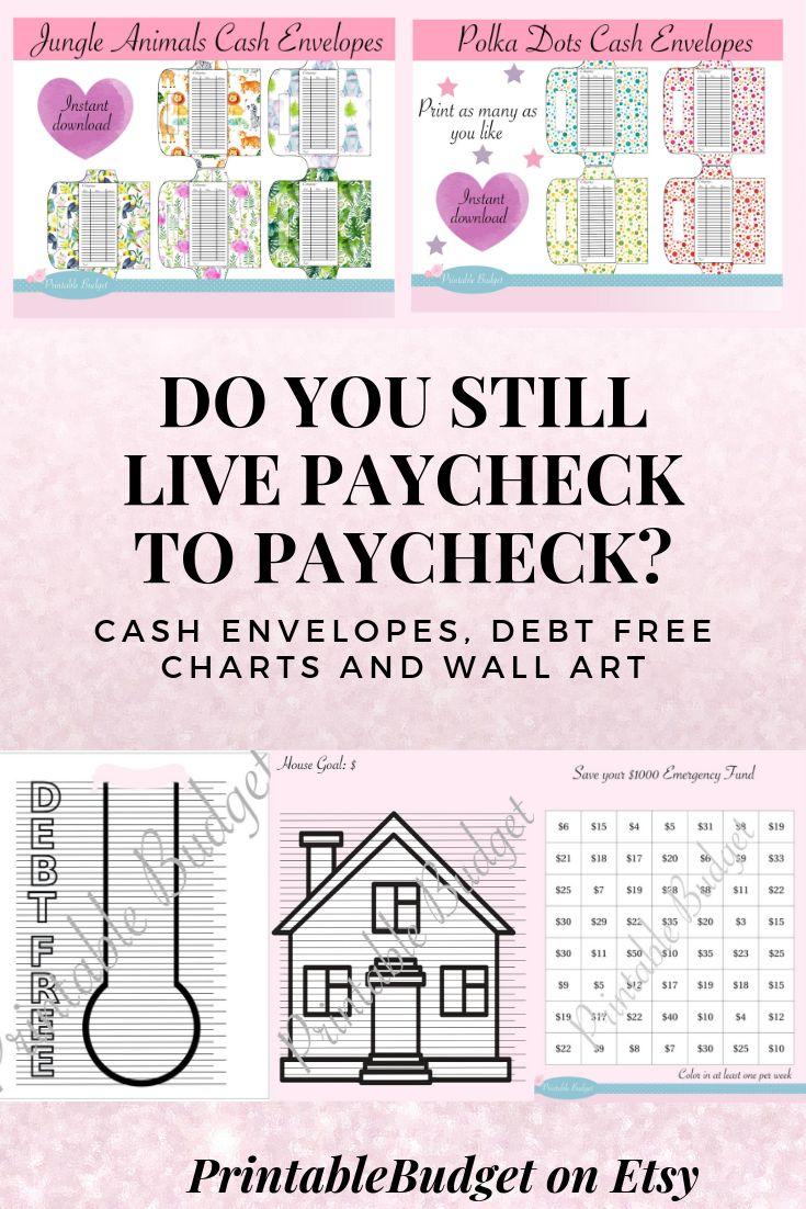 Do you still live paycheck to paycheck change cash