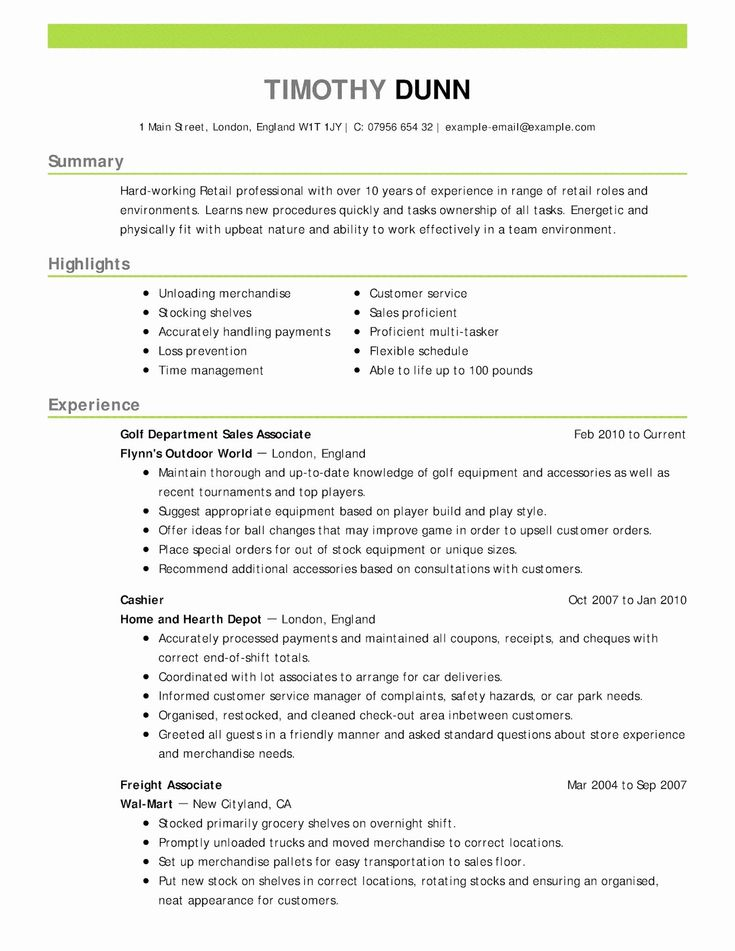 44++ Restaurant general manager resume template inspirations