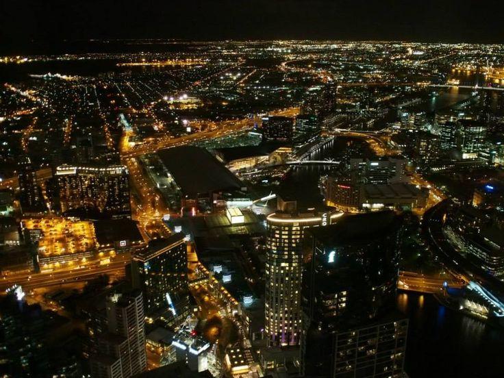 Melbourne night scenery