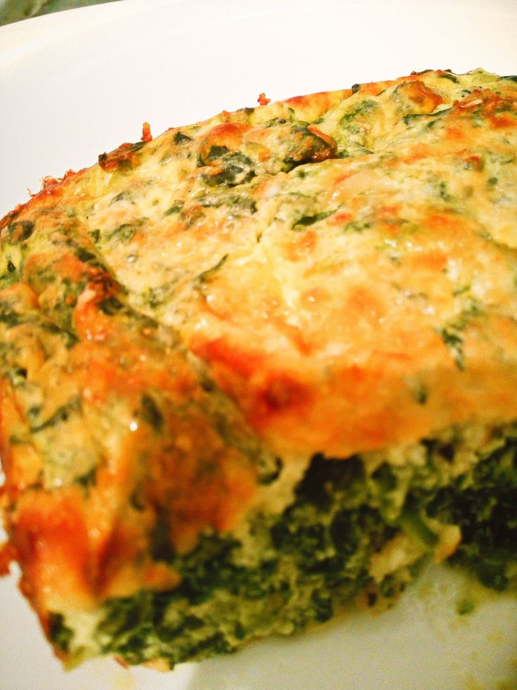 Low Carb Spinach And Ricotta Bake Recipe Dinner Ideas