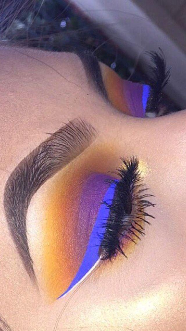 Make-up sieht auf Make-up-Paletten hart aus   – Make up