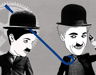 "Check out new work on my @Behance portfolio: ""The Chaplin Brothers"" http://be.net/gallery/53373875/The-Chaplin-Brothers"
