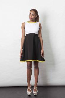 Black ,white and mustard. Summer 2015