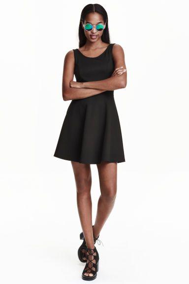 Žerzejové šaty bez rukávů | H&M