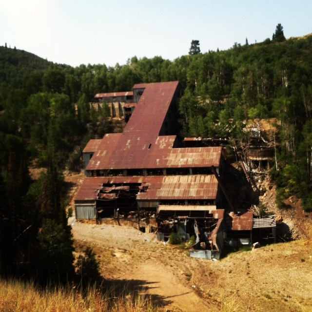 There Are Tons Of Old Mining Buildings Located Around Park