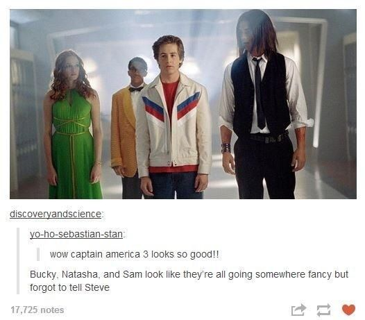 This. Is. Hilarious. Oh my gosh....Captain America the high school years! XD