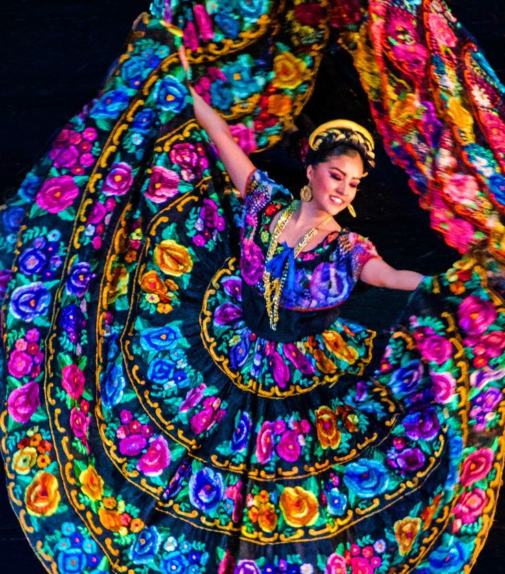 Mexican Folklorico Dance Costumes | Ballet Folklórico in Mexico City