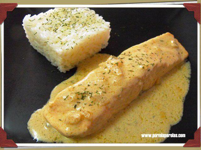 Lapsang Souchong salmon sauce