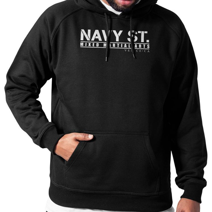 Navy St. Shirt MMA Gym Mixed Martial Arts Hoodie Sweat Shirt Ultimate Cotton  SIZE CHART IN INCHES S M L XL 2XL 3XL  BODY WIDTH 21 23 25 27 29 31  FULL BODY LENGTH 28 29 30 31 32 33  SLEEVE LENGTH 24 24 24 24 23.5 23.5  - Shipping Policy:  Item...