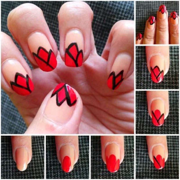 Nail Art Step by Step Designs >>> http://goo.gl/hmTuSm