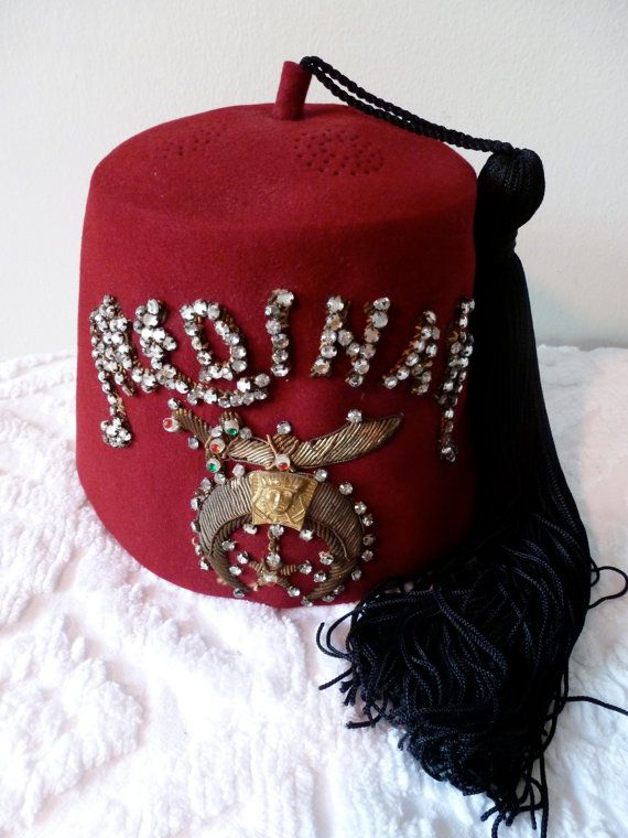 Vintage Shriners Fez Medinah Temple Chicago by ...