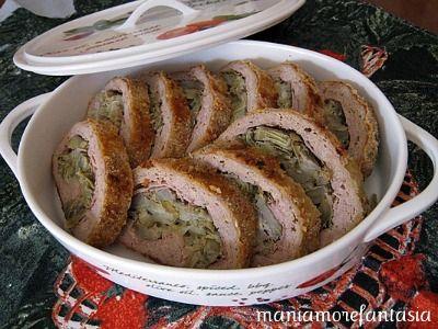 Un polpettone semplice che profuma di primavera. Carciofi, mozzarella... Scoprite la ricetta cliccando sul link.